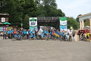 Учасники «Велопарку-2016»