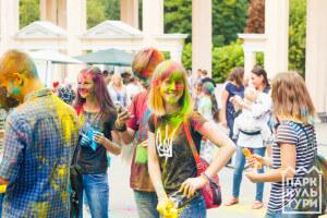 на Holli Fest of Colors
