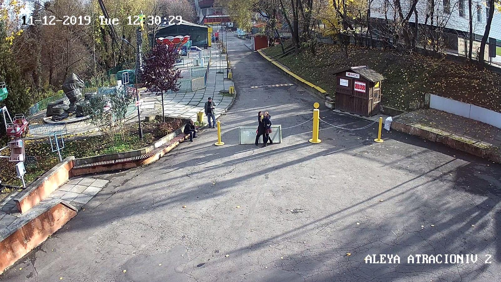 В Парку — майже півсотні відеокамер